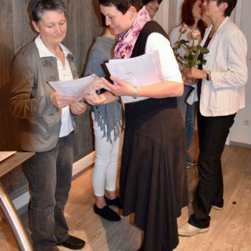Christine Pöschmann, Simone Schulz und Ursula Adler