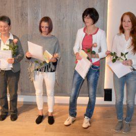 Christine Pöschmann, Karen Flemming, Andrea Straube, Grit Beckert
