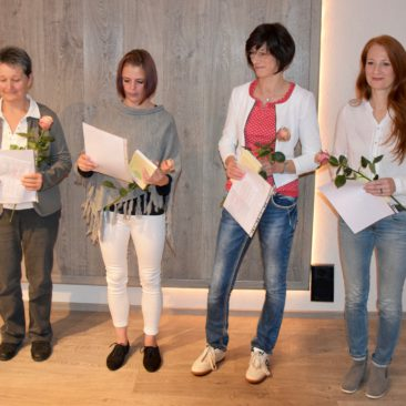 Christine Pöschmann, Karen Flemming, Andrea Straube, Grit Beckert,